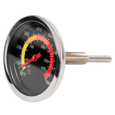 £4.30 • Buy 50-400℃ Barbecue BBQ Temperature Gauge Grill Steel Thermometer