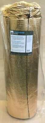 Super Gold 5mm Laminate/Solid Wood Underlay. 15m2 Roll. • 33.95£