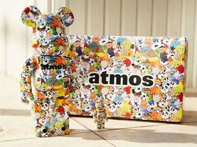 $269.99 • Buy Bearbrick Medicom 2021 Atmos Emoji Exclusive 100% 400% Be@rbrick