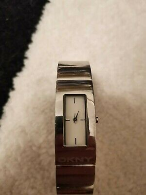 DKNY Ladies Women's Stainless Steel Watch NY4623 • 19.50£