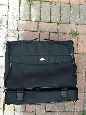 Excellent Condition Samsonite Black Suit Bag Suit Carrier Wheeled • 35.95£