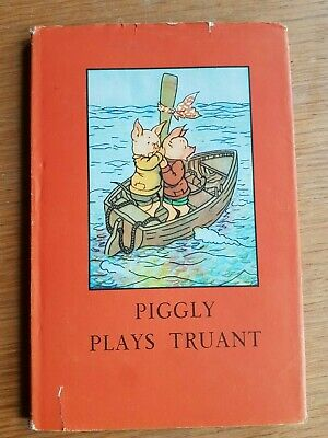 Piggly Plays Truant (MacGregor & Perring) - Vintage Ladybird 401, With DJ • 7.99£