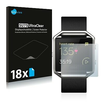 $ CDN6.12 • Buy 18x Screen Protector For Fitbit Blaze Plastic Film Invisible Shield Clear
