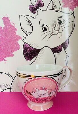 £6.29 • Buy Disney Marie The Aristocrats Footed Mug 435ml New J'Adore Le Lait Cat Cup