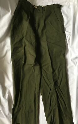 $24 • Buy Military M-1951 WOOL Cold Weather FIELD TROUSERS Pants Small Regular 1953 Dated