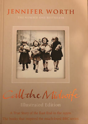 Call The Midwife Illustrated Edition Book • 4.50£