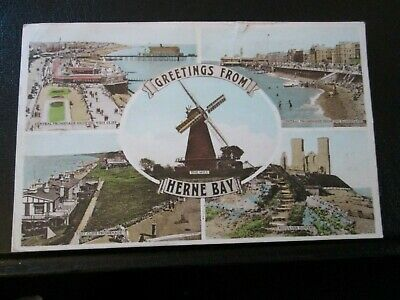 £1.99 • Buy Postcard Of Herne Bay (Multiview) Posted 1951