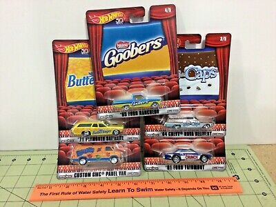 $ CDN64.50 • Buy Hot Wheels 2018 Nestle Complete Set Of 5! Real Riders, FREE Shipping!