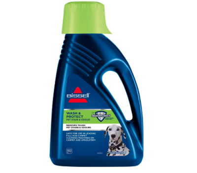 £23.99 • Buy BISSELL Wash And Protect Pet Stain Remover Carpet Shampoo With Scotchguard 1.5L
