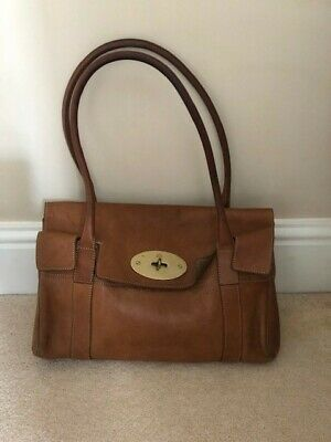 Mulberry Small Bayswater Bag, Tan With Dust Cover. Used But Good Condition • 250£