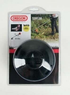 HEAVY DUTY BOLTLESS TAP & GO STRIMMER HEAD 25-33cc With DUOLINE By OREGON • 15.97£