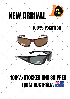 AU19.99 • Buy Men Women Polarized Cancer Council Style Sunglasses With Side Protection Lenses