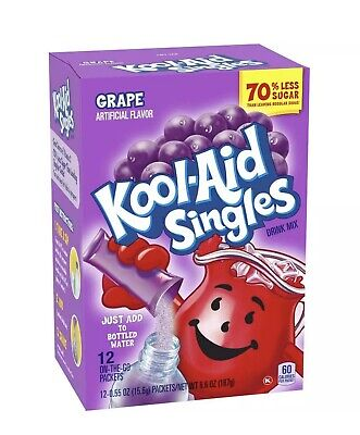Kool-Aid Singles Grape Soft Drink Mix, 0.55 OZ • 7.20£