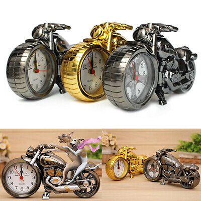 Motorcycle Alarm Clock Quartz Watch Punk Retro Gifts Cool Furnishings Boutique  • 8.84£