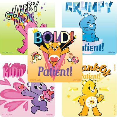 £2.42 • Buy 25 Care Bears Patient Stickers, 2.5  X 2.5  Each, Party Favors