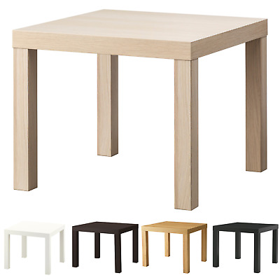 Side Table End Display 55cm Square Small Coffee Table Office Bedroom IKEA LACK  • 15.90£