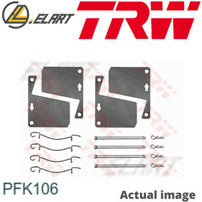 $22.65 • Buy Accessory Kit Disc Brake Pads For Ford Australia Ford Triumph Escort Saloon Trw