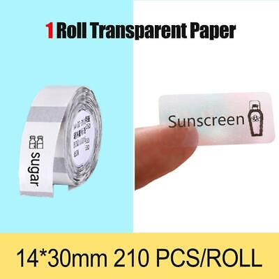 AU15.99 • Buy NiiMbot Thermal Label Paper Waterproof Oilproof Label Paper For D11 Portable The