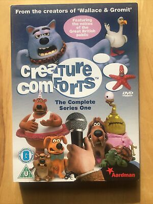 £7.50 • Buy Creature Comforts: Complete Series One Dvd * New * Sealed *
