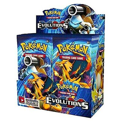 $999.97 • Buy Pokemon TCG Card Game XY Evolutions Booster Box - 36 Packs - Factory Sealed!