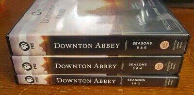 The Complete Series Downtown Abbey Collection DVD TV Shows PBS 1- 6 Seasons • 39.36£