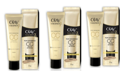 AU38.95 • Buy Olay Total Effects 7-In-1 CC Cream 2 X 50g