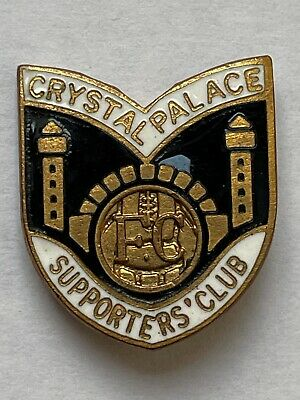 £13 • Buy CRYSTAL PALACE FOOTBALL SUPPORTERS' CLUB VINTAGE ENAMEL BADGE - 1960/70s