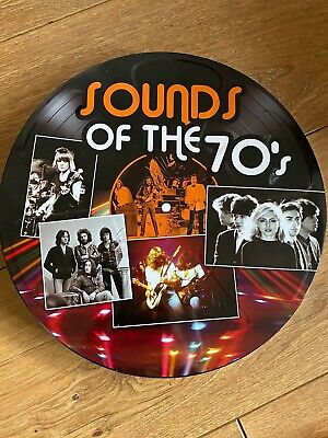Sound Of The 70's 5 Disc DVD Gift Tin Disco Funk Soul Rock Pop Electronic • 9.99£