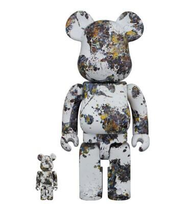 $280 • Buy Medicom Toy BE@RBRICK Jackson Pollock 100% 400% Andy Warhol Collection Goods