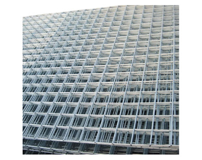 Welded Wire Mesh Panels 8x4FT Galvanized Steel Grid Fence Sheet Metal Pack Of 2 • 49.99£