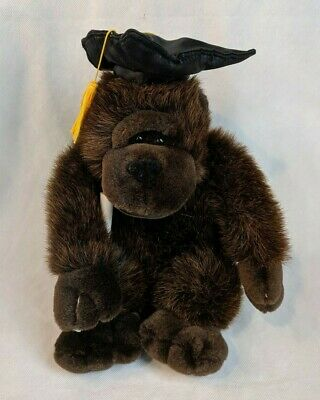 $ CDN12.09 • Buy MTY International Graduate GORILLA Monkey Plush Hat, Tassle & Diploma 10  Tall