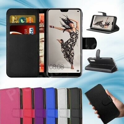 Case For Huawei P20 Pro P20 Lite 2019 Leather Magnetic Flip Wallet Stand Cover • 2.85£