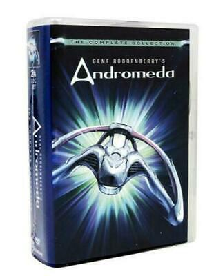 GENE RODDENBERRY'S ANDROMEDA: THE COMPLETE SERIES ( 24 DVD Disc Set ) NEW • 32.28£