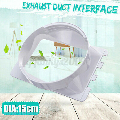 AU12.99 • Buy  15cm/5.9'' Portable Air Conditioner Spare Parts Gob Exhaust Duct Interface