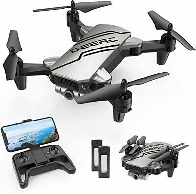 AU95.69 • Buy DEERC D20 Mini Drone For Kids With 720P HD FPV Camera, Foldable RC Quarcopter