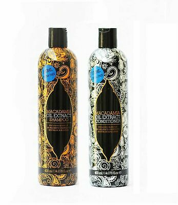 £5.49 • Buy Macadamia Oil Extract Shampoo & Conditioner All Hair Type Twin Pack 400ml Each