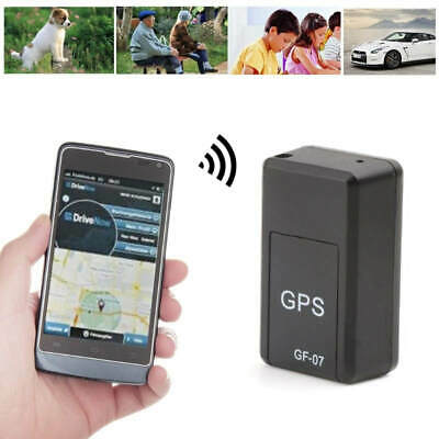 AU21.91 • Buy New GF-07 Mini GPS Tracker Tracking Device Real-time  Magnetic Enhanced Locator