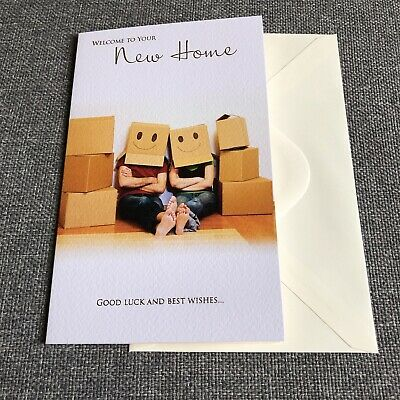 New Home Card - New House Card  - Funny Good Luck Card  • 2.30£