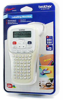 Brother H101C P-Touch Handheld Labelling Print Machine System + Tape + Batteries • 27.50£