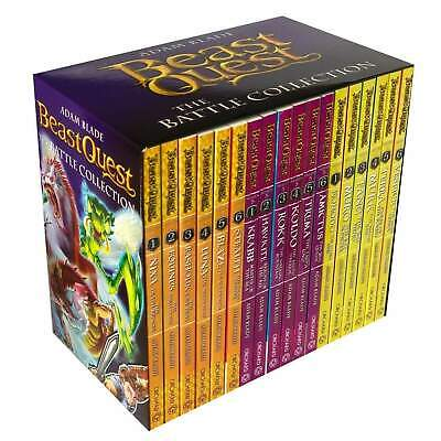 £23.91 • Buy Beast Quest The Battle Collection 18 Books Series 4 - 6 Box Set By Adam Blade