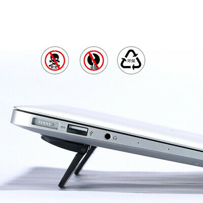 2Pcs Laptop Cooling Feet Stand Notebook Macbook Heat Reduction Pad Holder HD • 5.01£