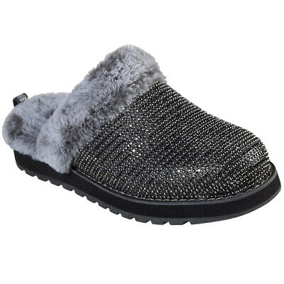 Skechers Ladies Keepsakes Dream Ninja Charcoal Diamante Slippers 31230/CCL • 49.95£