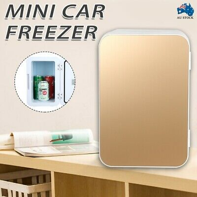 AU46.99 • Buy 12V 8L Portable Car Refrigerator Freezer Warmer Cooler Camping Fridge Gold AU