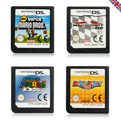 Mario Kart/Super Mario Bros/64/Party Game Card For Nintendo DS DSi 3DS XL LL NDS • 7.99£