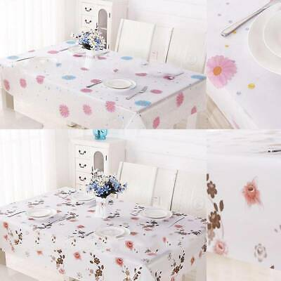 AU11.18 • Buy Water Proof Rectangle Dining Table Cloth Dustproof Cover Home Kitchen New SG