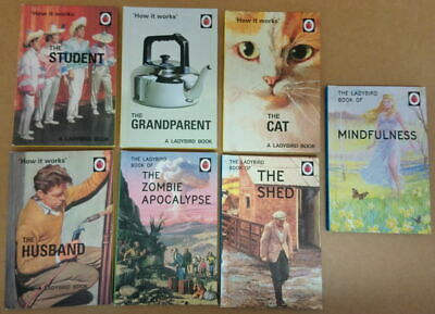 Ladybird Books For Adults - 7 Book Bundle #1 • 12£