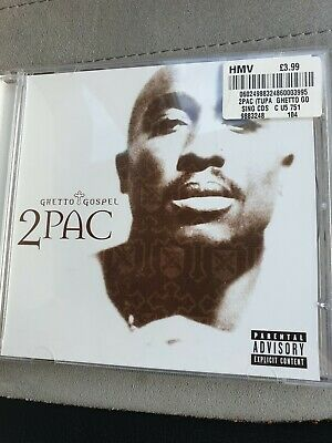 Ghetto Gospel [CD 2], 2Pac, Very Good Single • 0.99£