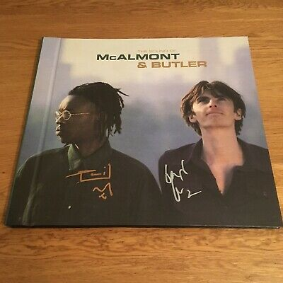 """Signed The Sound Of McAlmont & Butler Deluxe Edition Vinyl LP+12""""Single DVD/CD's • 95£"""