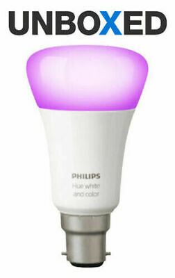 AU58.69 • Buy Philips Hue White & Colour Ambience Wireless LED Bulb Richer Colours - B22