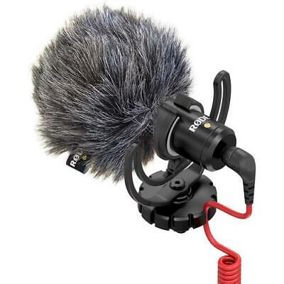 RODE VideoMicro Compact On-Camera Microphone With Deluxe Furry Windshield • 42.20£